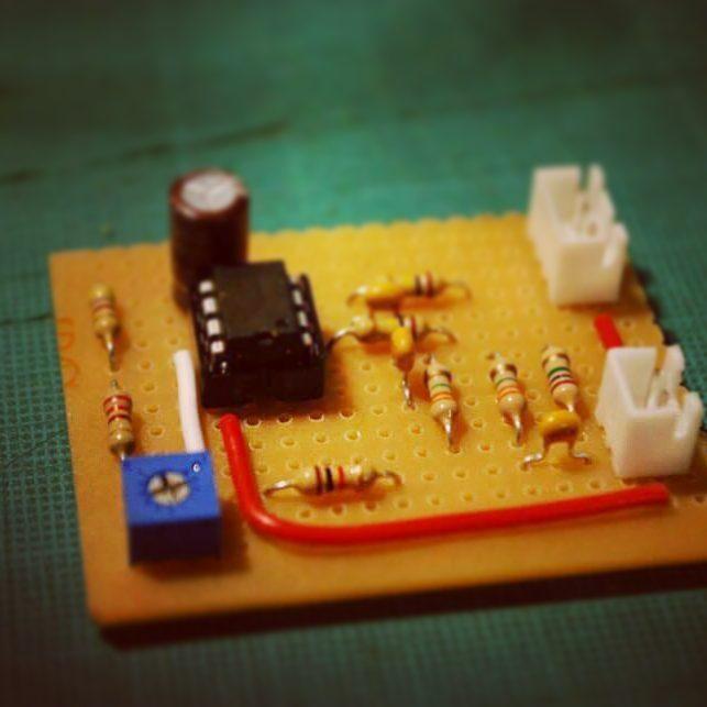 DIY Circuit biosensor GSR