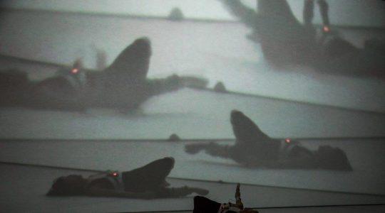 interactive media dance performance with sensors