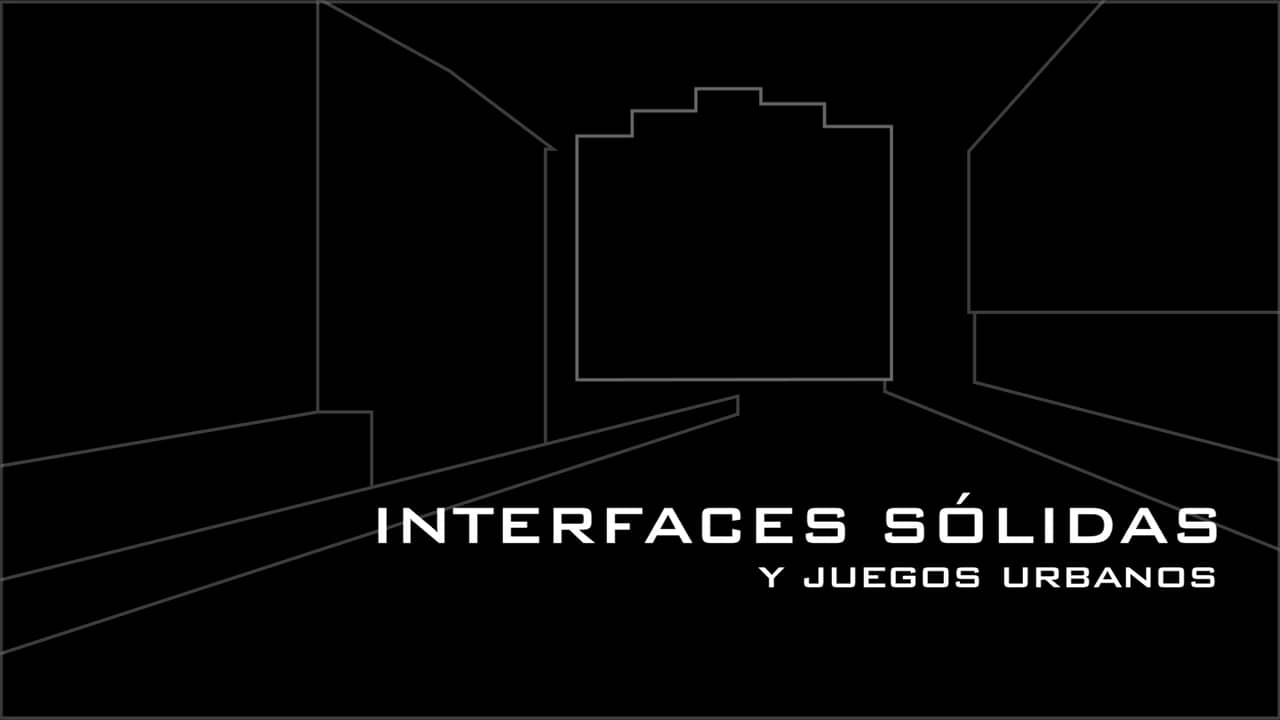 Interfaces sólidas y juegos urbanos medialab prado